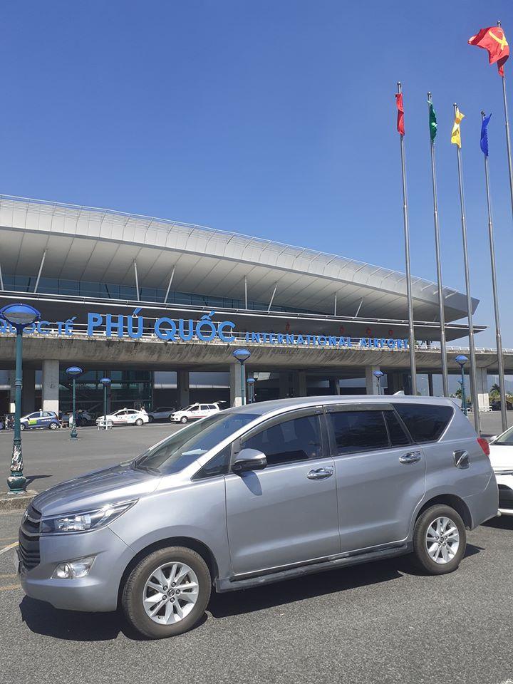 xe đưa đón sân bay Phú Quốc