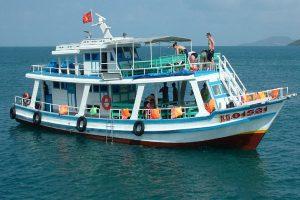 Tour Nam Đảo Phú Quốc tàu câu cá , lặn ngắm san hô 1 ngày
